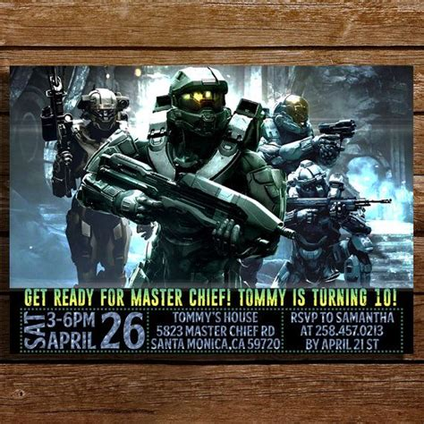 17 best ideas about halo birthday on