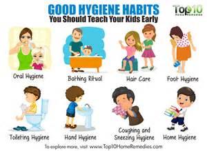 Good Personal Hygiene Habits