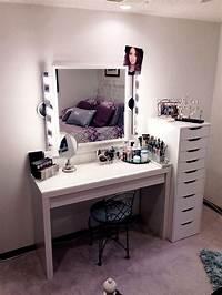 make up vanity DIY Makeup Vanity Brilliant Setup for Your Room