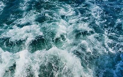 Sea Water Foam Ocean Waves Laptop Desktop