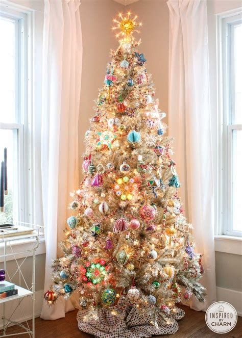 decorating tiny chic tree 17 best images about white decorating ideas on trees white