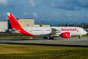 Avianca recibe su primer Boeing 787 Dreamliner Webinfomil