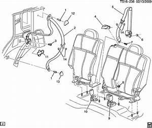 15745358  Seat Shldr Belt
