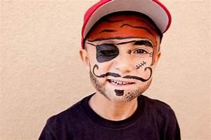 Maquillage Pirate Halloween : maquillage enfant facile 42 suggestions pour halloween ~ Nature-et-papiers.com Idées de Décoration