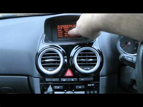 centre dashboard clock radio bulb replacement vauxhall