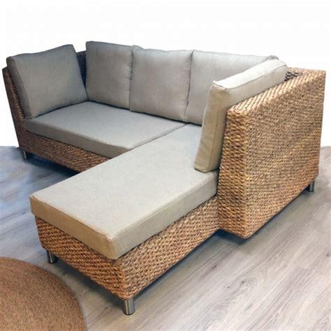 canapé convertible ecologique beau salon d 39 angle bio convertible à l 39 ambiance nature et