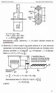 Material De Apoyo Para Ingenier U00eda Estructural  Resistencia