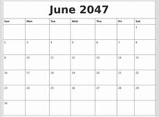 April 2047 Online Calendar Template