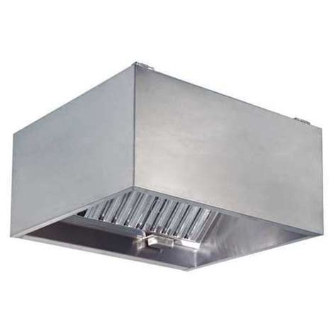 Dayton Commercial Kitchen Exhaust Hood, Ss, 60 In 20ud06