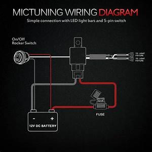 5 Pin Relay Wiring Diagram Light Bar