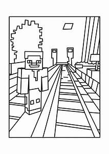 Printable Minecraft Coloring Pages Az Coloring Pages