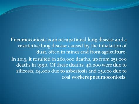 occupational diseases