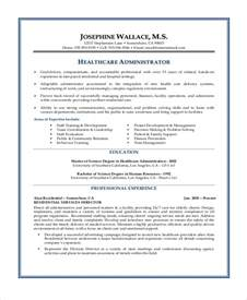 healthcare manager resume objective sle objectives for resume 8 exles in word pdf