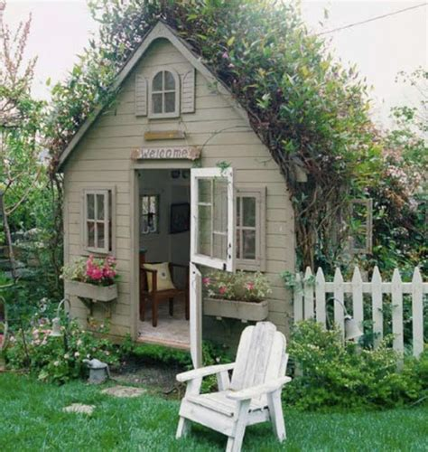 Backyard Cottage Playhouse by 8 New Ideas For Outdoor Playhouses Kidsomania