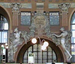 Art Nouveau Architecture : art nouveau architecture the new art is applied to buildings ~ Melissatoandfro.com Idées de Décoration