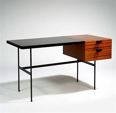 paulin bureau petit desk paulin thonet 1953 the design walker