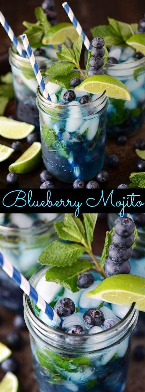 blueberry mojito drink mojito blueberry mojito