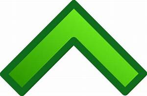 Green Single Up Arrow Set Clip Art at Clker.com - vector ...