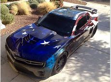 """Camaro ZL1 """"Freedom Fighter"""" When Performance Meets the"""