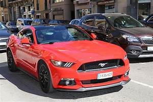 Ford Mustang GT: red copy with 5.0 • ALL ANDORRA