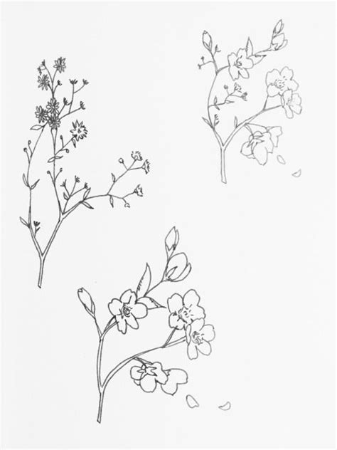 Image result for wildflower tattoo drawing | Wildflower
