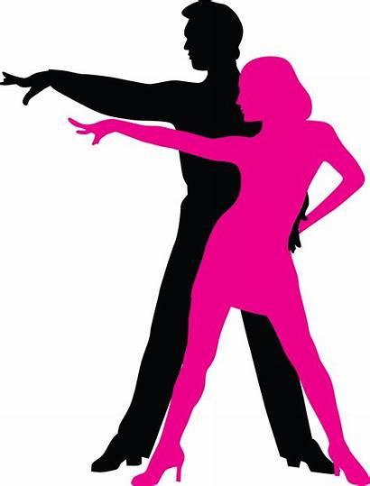 Dance Ballroom Latin Salsa Silhouette Clipart Social