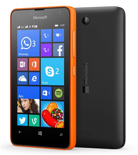 microsoft launches lumia 430 the most affordable windows phone