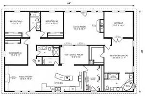 house plans with 4 bedrooms modular home plans 4 bedrooms mobile homes ideas