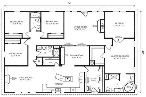 Modular Home Plans 4 Bedrooms