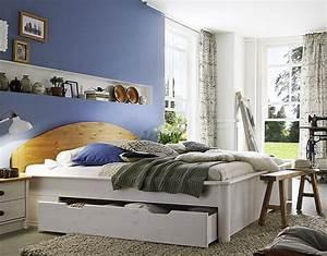 Schlafzimmer Komplett Weiß : schlafzimmer komplett kiefer 2farbig wei gewachst ~ Orissabook.com Haus und Dekorationen