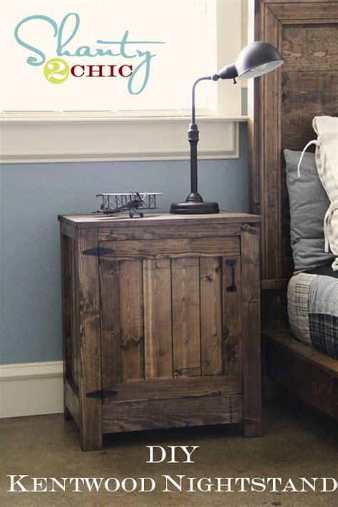diy restoration hardware nightstand shanty  chic