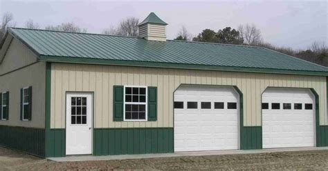 pole barn garage kits 101 metal building homes