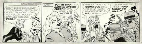 Frazetta Frank And Capp Al Lil Abner Daily 12 11 1957