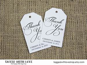 thank you tag party favor tags shower wedding favors With thank you tags for wedding favors