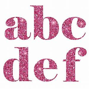 image gallery sparkle letters With pink glitter letters