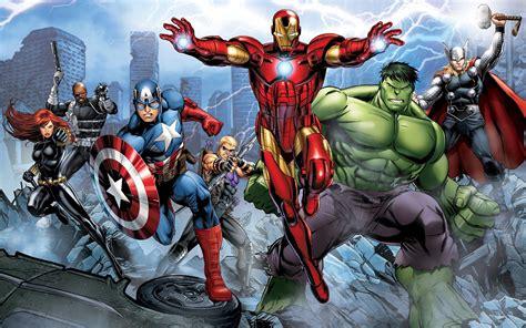 Wallpaper Black Widow Captain America
