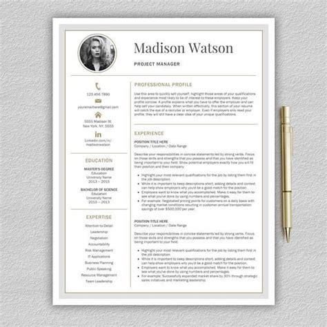 Vorlage Moderner Lebenslauf by Modern Resume Template Professional Resume Template Word
