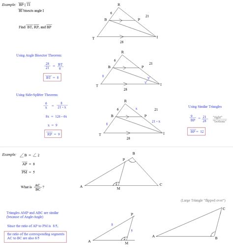 worksheet classifying triangles by sides and angles