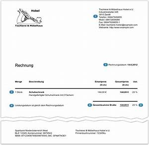 Rechnung Brutto Netto : rechnungen schreiben leicht gemacht ~ Themetempest.com Abrechnung
