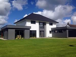 La Maison Du Blanc : maison ossature bois claude vasseur la maison bois par ~ Zukunftsfamilie.com Idées de Décoration