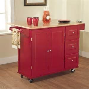 tms kitchen cart with three drawers traditional - Kitchen Island Cart Walmart