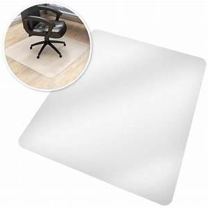 chaise de bureau transparente achat vente chaise de With tapis de protection de sol