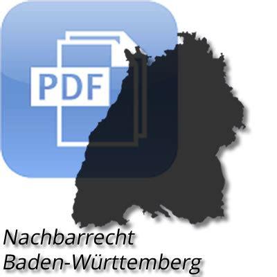nachbarrechtsgesetz baden württemberg nachbarrechtsgesetz f 252 r baden w 252 rttemberg 2019 pdf