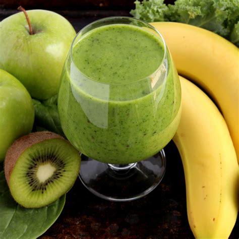 recette smoothie pomme banane kiwi