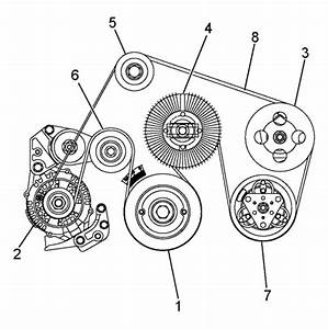 2002 Isuzu Axiom  Trooper V6 3 5l Serpentine Belt Diagram