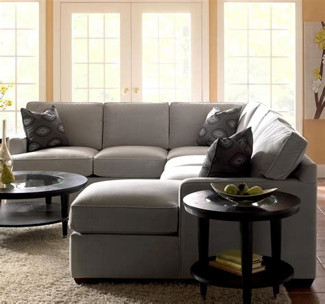Loveseat With Chaise Lounge by Sectional Sofa With Chaise Lounge By Klaussner