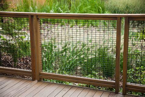 hog wire deck railing deck contemporary  balcony board