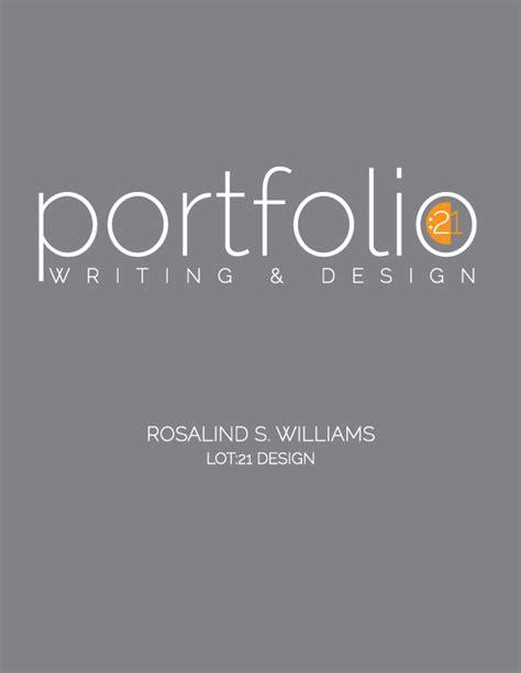 Graphic Design Cv Portfolio Pdf by Graphic Design And Writing Sles Portfolio