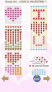 Love Stickers, Emoji Art for Valentines Day Messages (ios ...