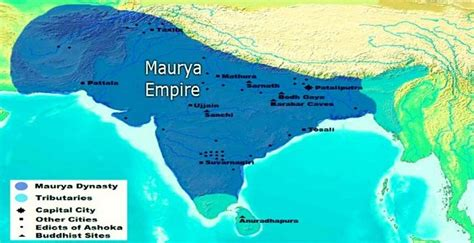 maurya empire  india facts history government